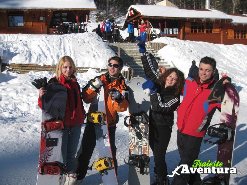 snowboarding sinaia