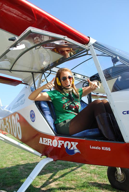 pilot avion ultrausor