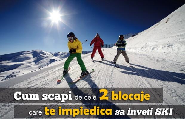 invata ski, cursuri ski, lectii ski, cum inveti ski