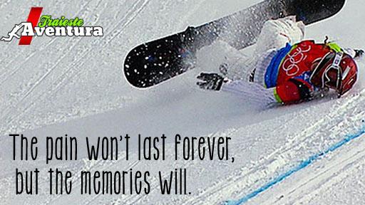 Durerea trece, amintirile raman