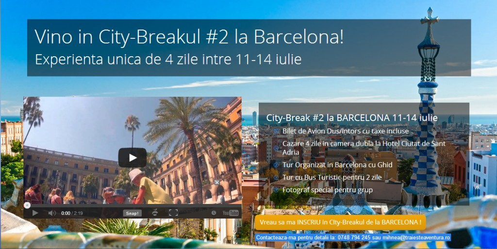 cover barcelona city break
