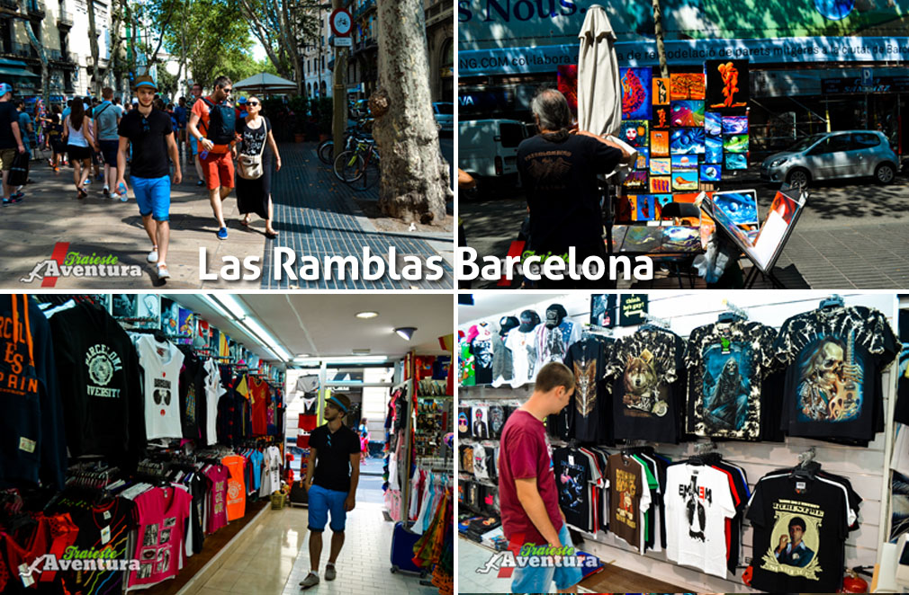 las ramblas wallpaper