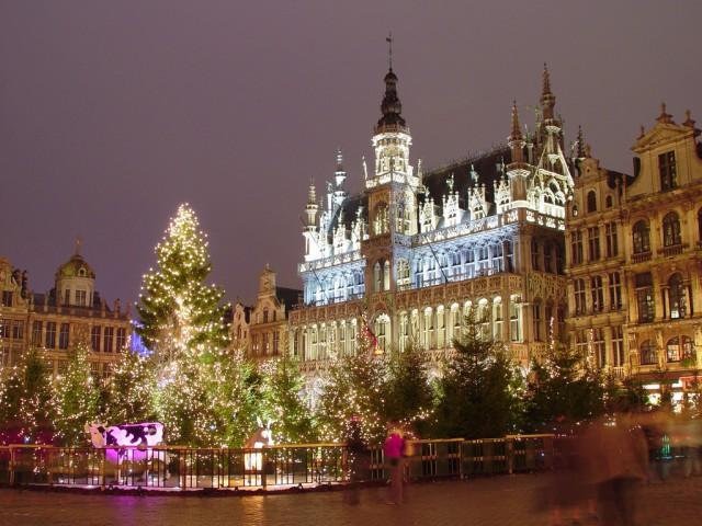 """Weihnachten auf dem """"Grand Place"""""""
